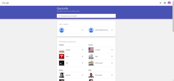 Google Alerts - Kraft&Werk