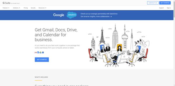 Google Gsuite - Kraft&Werk-1