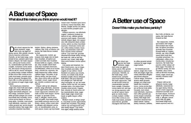 Prazen prostor in oblikovanje - primer dobre prakse